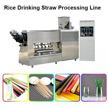 Eo-Friendly Industrial Biodegradable Drinking Straw Making and Cutting Machine Extruder Production Line