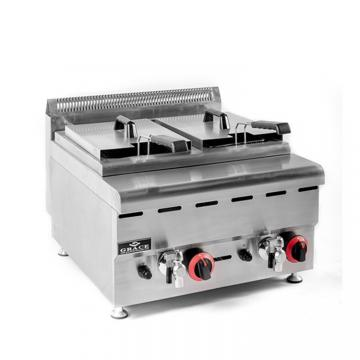 Factory Price Twin-Tank Deep Electrical Gas Fryer