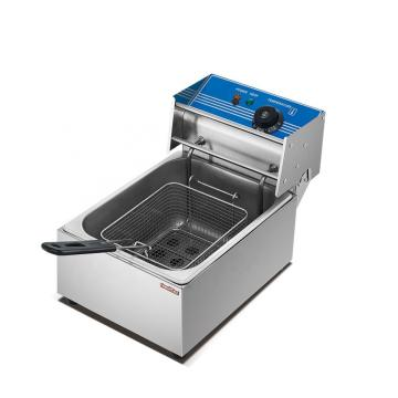 Industrial Twin Tank Electric Deep Fryer Dzl-34V