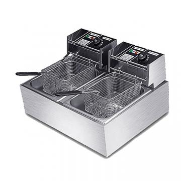 Stainless Steel Mini Electric Deep Fryer for Chicken and Snack
