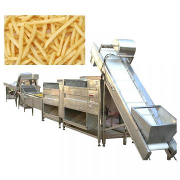 Industrial Automatic Stainless Steel Frozen French Fries Production Line/Potato Chips Production Line/Snack Potato Chips Making Machine with Ce Approved