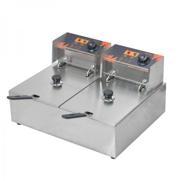 Big Electric Double Deep Fat Fryer for Sale #1 image