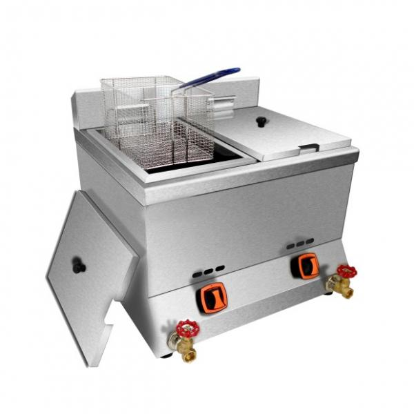 LPG Gas Deep Fryer Gzl-34 #1 image