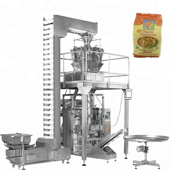 Candy Potato Chips Snack Salt Sugar Sachet Rice Small Weighing Packaging Automatic Packing Machine Price #1 image