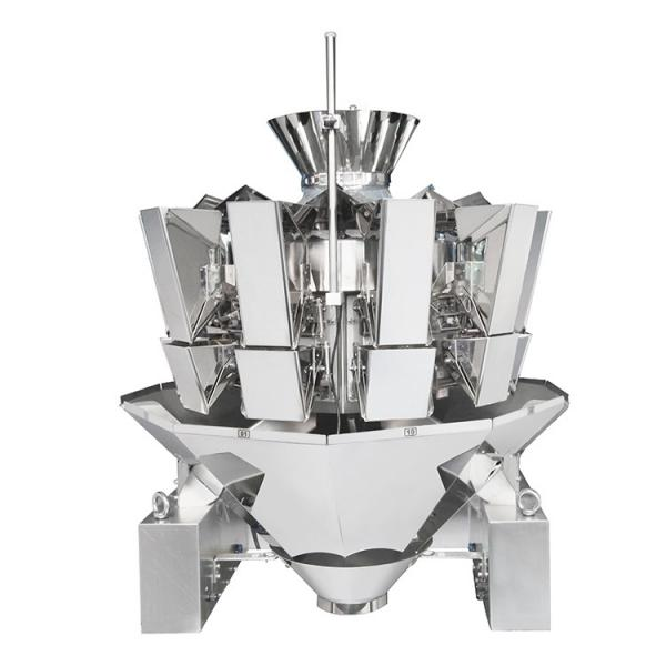 Automatic Mayonnaise Container Weighing Filling Machine #1 image