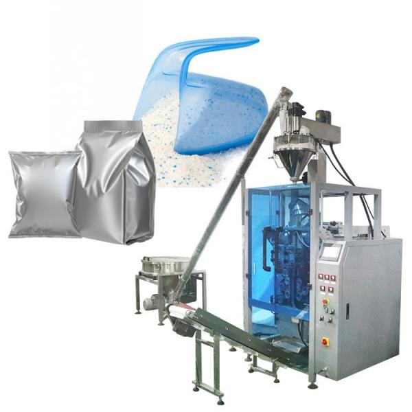 Full Automatic Weighing Filling Premade Pouches Sealer Rotary Chocolate Beans Packaging Machine #1 image